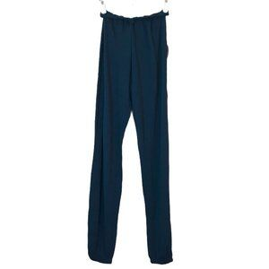Planet Blue Rolled Sweat Pants Boy Scout Blue S